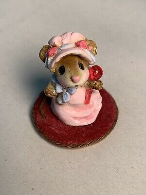 Wee Forest Folk Mousey Baby M - 034 1982