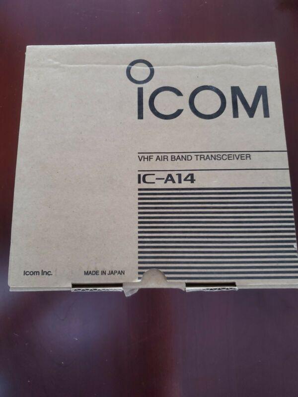 Icom A-14 Portable Air Band Radio Transceiver