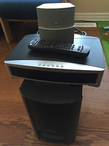 Bose 321 GS Series System with two BOSE stands