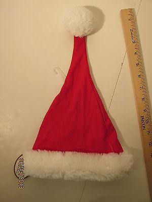 Bearington Baby Santa Hat 0-3 MO cotton our - Baby Santa