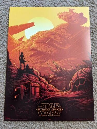 Star Wars The Force Awakens Dan Mumford IMAX Poster - Rei
