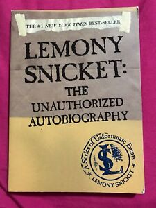 lemony snicket - the unauthorized autobiography