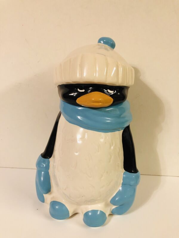 RARE Vintage Chilly Willy Penguin Cookie Jar McCoy