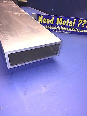 6061 T6 Aluminum Rectangle Tube 2 X 6 X 24 X 14--2 X 6 X .250 Wall
