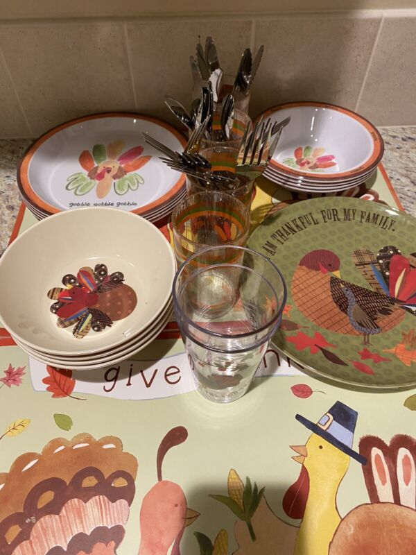Pottery Barn Kids Thanksgiving Serveware