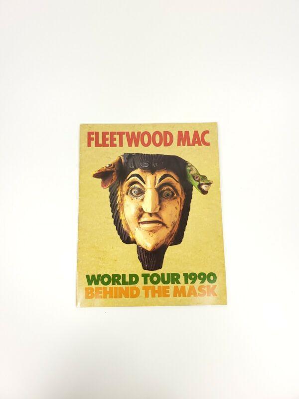 Fleetwood Mac 1990 Behind The Mask Tour Book Program