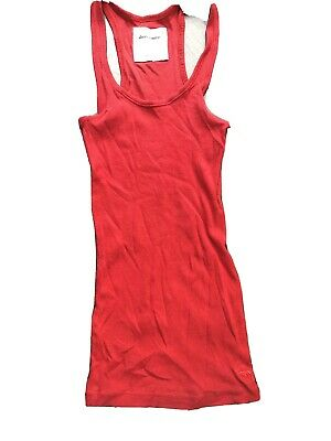 abercrombie kids Small 7/8 Red Racerback Tank Top