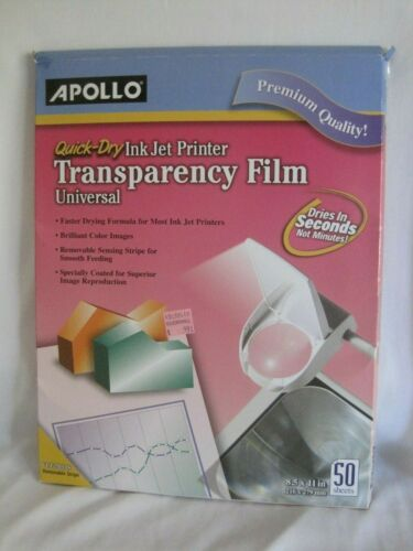 Apollo  Inkjet Printer Transparency Film Universal Quick Dry