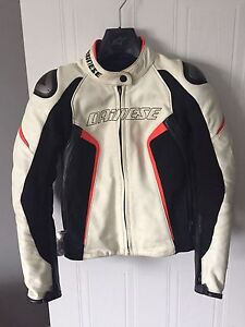 Manteau Dainese Racing D1 Lady Leather Jacket