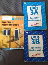 Year 11 Mathematics Specialist 3AB books Hillarys Joondalup Area Preview