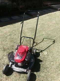 "Honda side throw lawn mower Slasher 6hp 21"" cut like new"