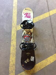 Snowboard Set for sale