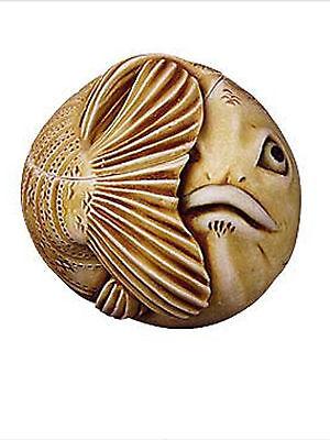 FATS THE FISH #TJRPF12 HARMONY KINGDOM ROLY POLYS ARTIST ADAM BINDER
