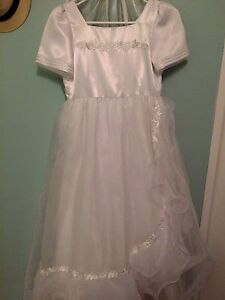 Confirmation White dress