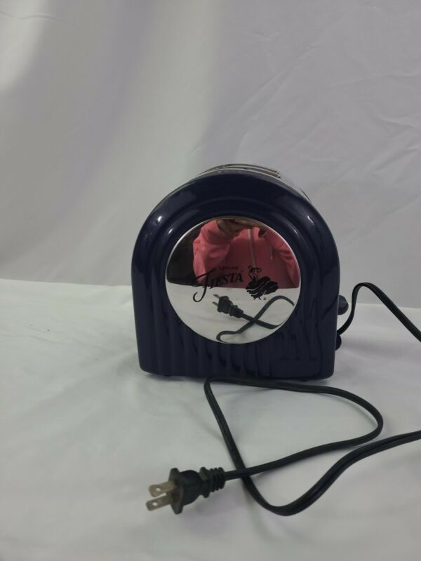 Vintage Fiesta Two Slice Toaster Cobalt Blue