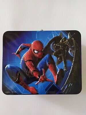 Spider-Man Puzzle Lunch Box, With Bonus 48 pc puzzle.