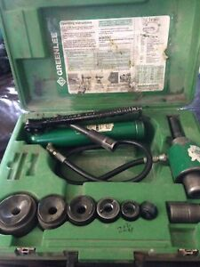 7646 Greenlee Hydraulic Knockout Sriver