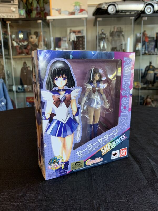 New! Sailor Moon - Sailor Saturn S.H. Figuarts Action Figure By Bandai, Rare!