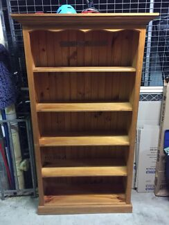 Three bookcases. $70 each.