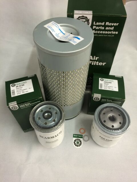 Bearmach Land Rover Defender 300tdi 94-98 Engine Filter Service Kit BK 0013