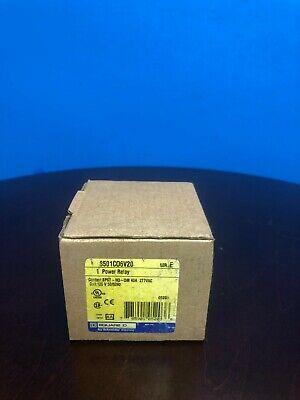 Square D Power Relay 120v 8501c06v20