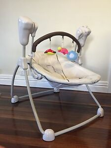 Baby Swing. Music volume, swing size and time adjustable. Stafford Brisbane North West Preview
