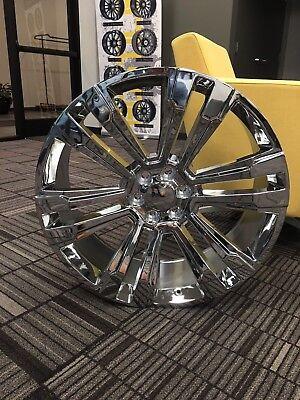 "24"" OE 2017 Yukon Denali Wheels Chrome GMC Tahoe Yukon Chevrolet"