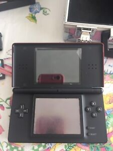 Nintendo DS + case, accessories and games