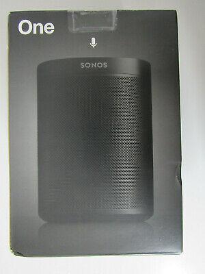 Sonos One 2. Generation Multiroom Speaker mit Alexa & Airplay Schwarz NEU