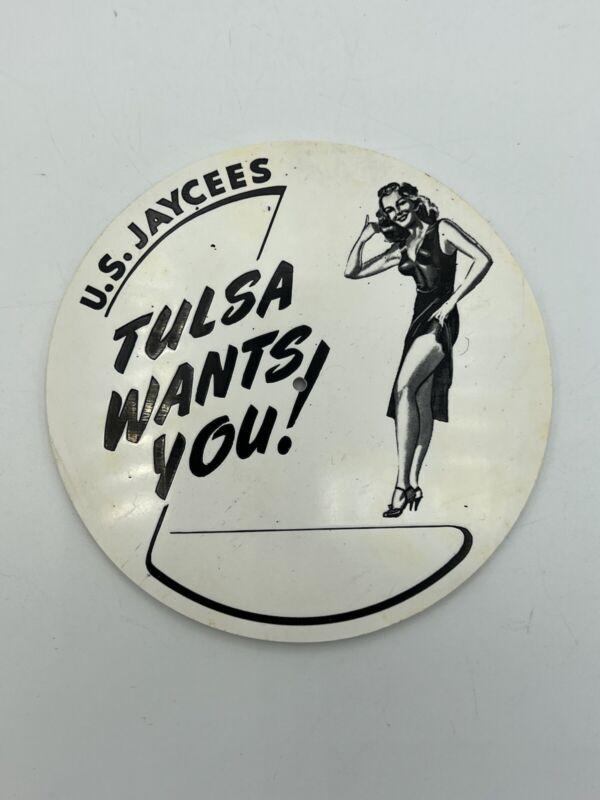 U.S. Jaycees Tulsa Wants You! Name Tag Badge?