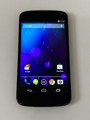 Nexus 4 - 16GB - Black (Unlocked) Smartphone - Read Notes