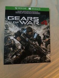 "Xbox one games "" Gears of war"""