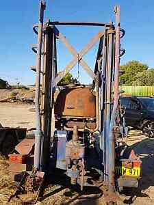 Gemco drill rig on licensed trailer. 40 or 50 meters of augers. Forrestfield Kalamunda Area Preview