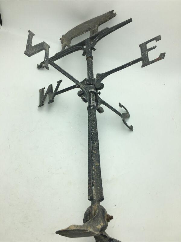 Pig Weathervane Cast Iron Vintage