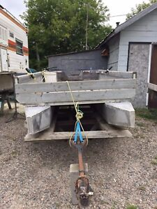 Attention Hunters - Homemade pontoon