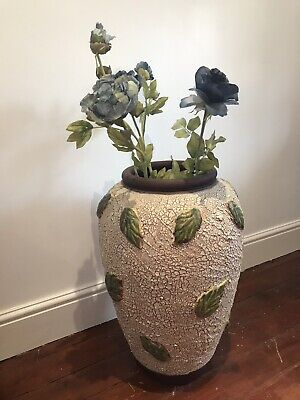 Large Tuskan Terracotta Olive Jar Urn