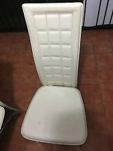 White dining room chairs in good condition St Marys Penrith Area Preview