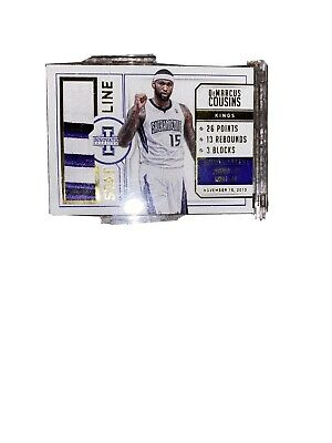 2014 Innovation Demarcus Cousins Stat Line Prime Patch -