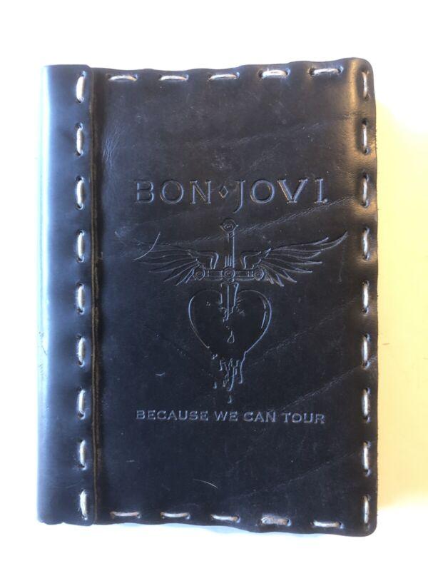 Bon Jovi Because We Can Tour Photo Album Leather Bound