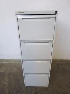 D20072 Grey Metal BROWNBUILT 4 Drawer Filing Cabinet Mount Barker Mount Barker Area Preview