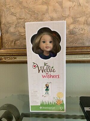 American Girl Wellie Wishers Camille Doll