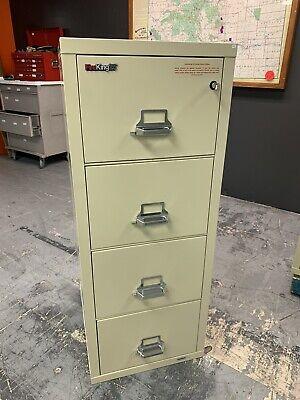 Fireking 4-2125-cpa Legal 4-drawer Vertical File Cabinet - Fireking25 W Key