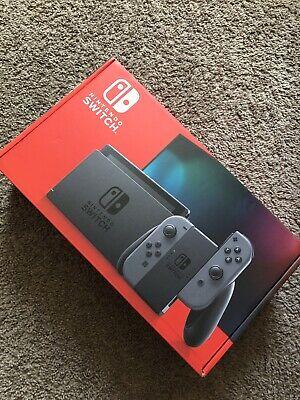 Nintendo Switch 32GB Console with Gray Joy‑Con (V2) (New)