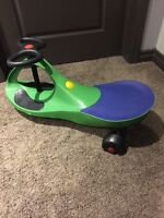 Child's riding toy - barley used.