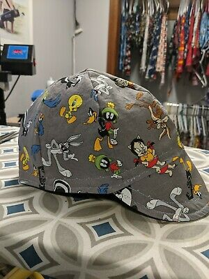 Wendys Welding Hat Made With Looney Tunes 2 Fabric New