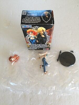 Bandai Half Age Characters Figure One Piece The New World Vol 3 Nami (open Box)