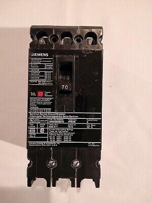 Siemens 250A 600V Circuit Breaker Catalog # FD63F250  **new in box**