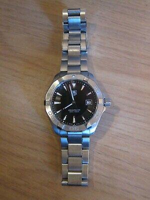 Tag Heuer Aquaracer WAY1110.BA0910 Men's Wrist Watch 2017 Black Dial 40.5mm