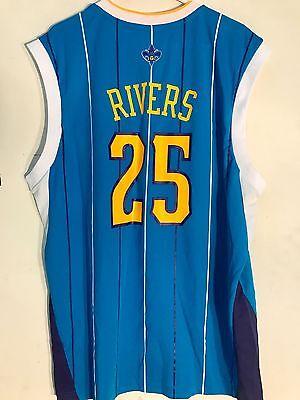 Adidas NBA Jersey New Orleans Hornets Austin Rivers Teal sz L