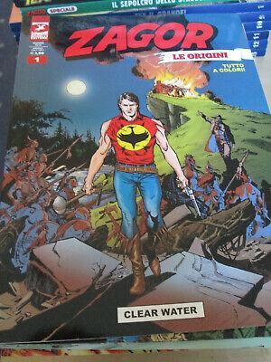 Zagor Inedito a colori n. 1 - Le Origini - Sergio Bonelli Editore online kaufen